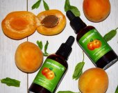 Organic Apricot Kernel Oil/ Organic Facial Oil/ hydrating Oil/ Apricot Body Oil/ Eyelashes Oil/ Hair Growth Oil