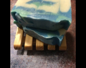 Light, fresh scented cocoa butter soap