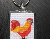 "Keychain ""Fire Cockerel"""