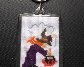 "Keychain ""The Witch"""