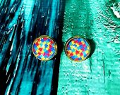 Autism Awareness Stud Earrings