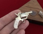 2mm pinfire gun Belgium Pocket Revolver
