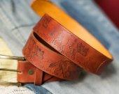 """Handmade belt """"She-wolves""""/great gift"""