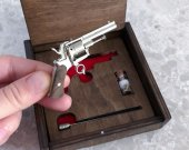 2mm pinfire 6-shot cylinder Revolver Lefaucheux
