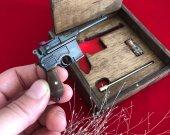2mm pinfire gun Mauser C96 Black Version