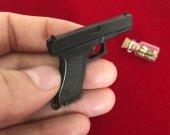 2mm pinfire gun Glock 17 Black Version