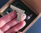 2mm pinfire gun Walther PPK