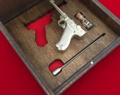 2mm pinfire gun Luger