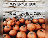 Halloween mystery gift box