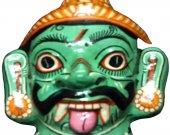 Papier Mache Mask of Mahisasura