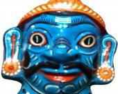 Papier Mache Mask of Ravan