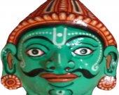 Papier Mache Mask of Nakul