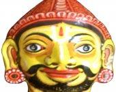 Papier Mache Mask of Bheem
