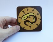 Handmade Electric Flesh Bioshock Tonic coaster