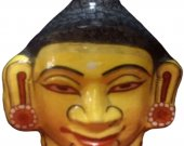 Papier Mache Mask of Lord Buddha