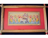 Wall Hanging Painting Of Krishna Leela (Kalia Dalan)