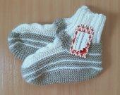 Hand Knitted Socks, Warm House Socks, Knitted Wool Socks, Knitted Winter Socks, Hand Knit Womens Slippers Socks