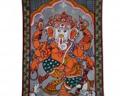 A Pattachitra Painting of Lord Ganapati