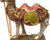 A Rajasthani Decorative Camel Figurine
