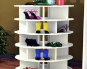 Spinning Shoe Rack Revolving Shoe Tower Rotating Shoe Rack Shoe Storage Rack