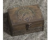 Vikings - Drakkar themed wooden jevelery box/casket