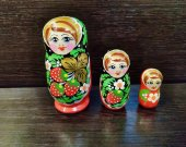 Matryoshka 3 pcs