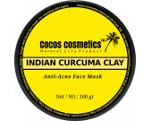Turmeric Mask For Acne/ Detox Acne Facial Mask/ Yellow Clay Mask/ Skin Lightening Mask/ Turmeric Clay Facial Mask