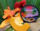 Papaya Enzyme Exfoliating Tropical Face Mask / natural ingredients free of chemical, vegan friendly, Papaya aroma