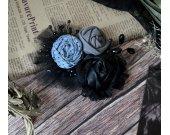 Original textile brooch