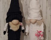 Gnomes: Bride and Groom as a gift for a wedding or anniversary.