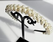 Pearl hoop handmade imitation pearl