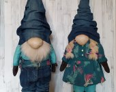 A pair of gnomes for the interior.
