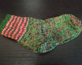 Unisex handmade half-woolen socks