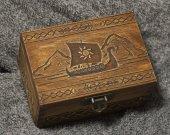 Secret Compartment Vikings - Drakkar themed jevelery box/casket with hidden section