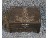 Secret Compartment Thor™s Hammer - Mjolnir themed jevelery box/casket with hidden section