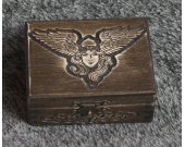 Vikings - Valkyrie themed mini wooden jevelery box/casket