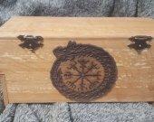 Viking chest jevelery box/casket