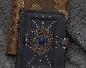"Oscar Wilde™s ""Dorian Gray"" inspired Handmade leather craft paper notebook in wooden box"