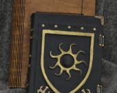The Chronicles of Nilfgaard - Handmade leather craft paper notebook in wooden box