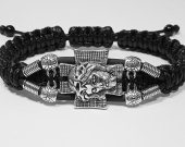 Handmade bracelet with a durable cord. Jesus