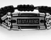 Handmade bracelet in shambala style. Bestfriend