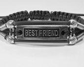 Handmade bracelet with a durable cord. Bestfriend