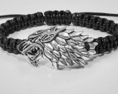 Handmade bracelet with a durable cord. Game of thrones