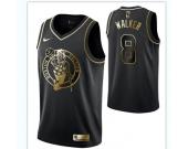 Men's Boston Celtics #8 Kemba Walker Black Golden Edition Jersey