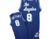 Men's Los Angeles Lakers #8 Kobe Bryant Blue Classics Edition Jersey