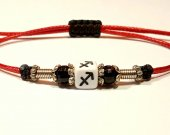 Handmade bracelet with a durable cord. Zodiac signs