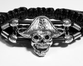 Handmade bracelet with a durable cord. Pirate