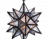 Hanging Moroccan Star Lantern