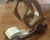 Buggy. Wood toy.