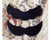 Mario & Luigi Style Adult Size Mustache 2-PAK